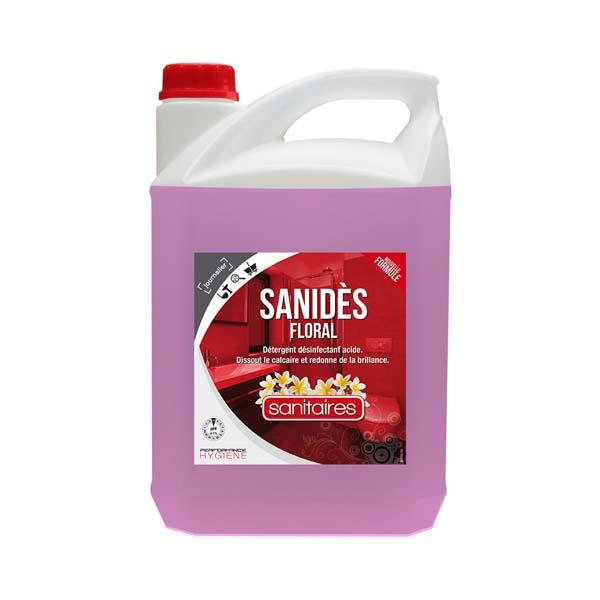 SANIDES FLORAL bactéricide sanitaire 5 L