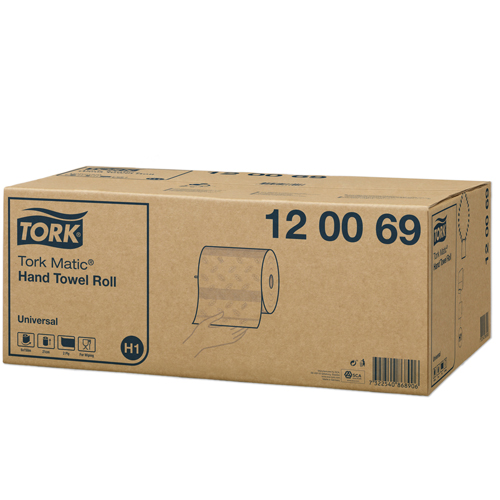 Distributeur H1 Tork Matic  Intuition Blanc
