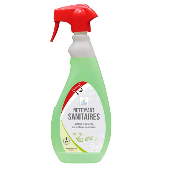 VERT NATURE NETTOYANT SANITAIRES ECOLABEL